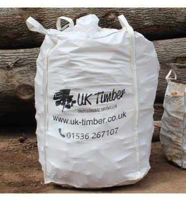 Extra-Large Bulk Bag of Kiln-Dried and Air-Dried Sawmill Offcuts
