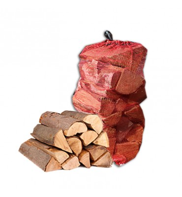 Nets of Seasoned Softwood Firewood