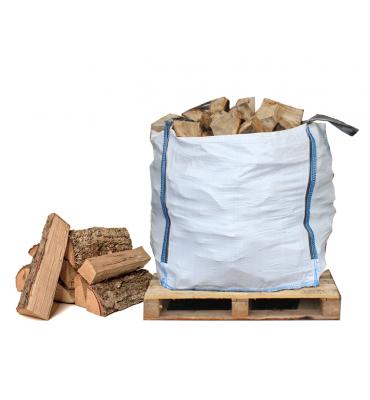 Bulk Bag of Seasoned Hardwood Firewood