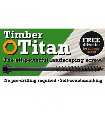 Timber Titan Landscaping Screws - 250mm