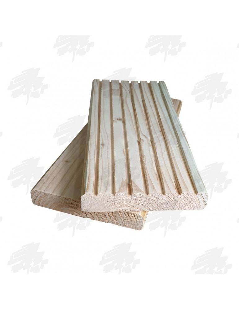 English Larch/Douglas Fir Decking Boards - Reversible
